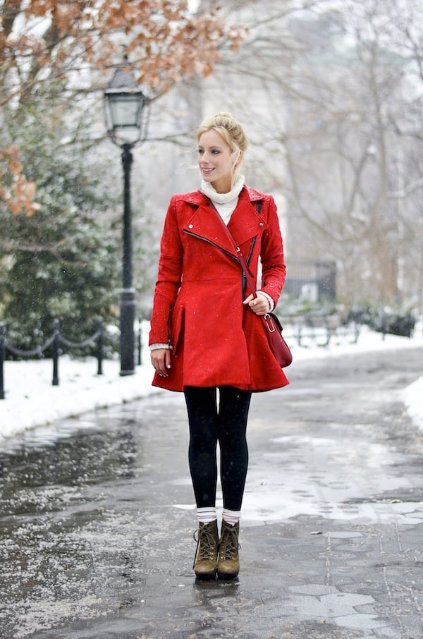 Asos Red Coat 2