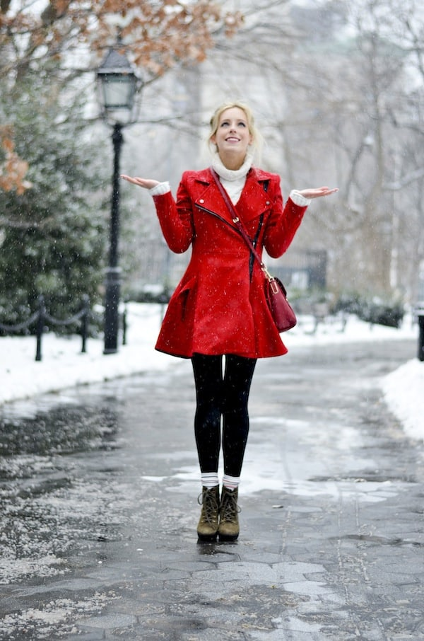 Asos Red Coat 3