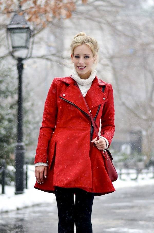 Asos Red Coat 4