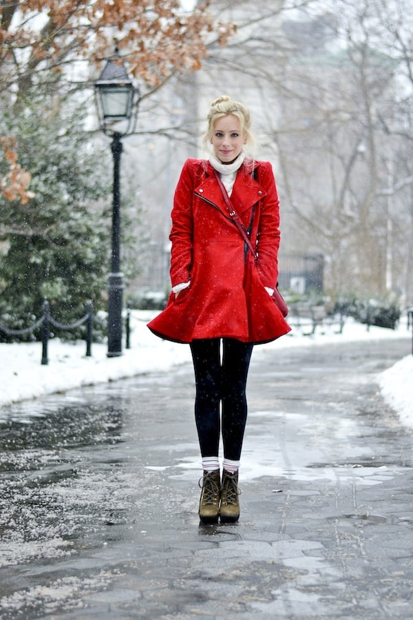 Asos Red Coat 5