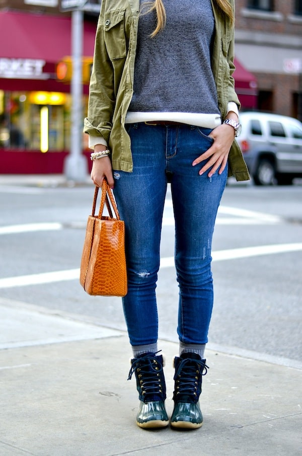 J Crew Sperry Boots