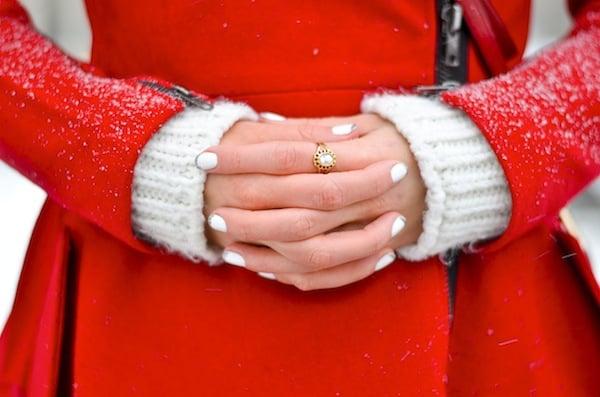 White Manicure Nail Polish