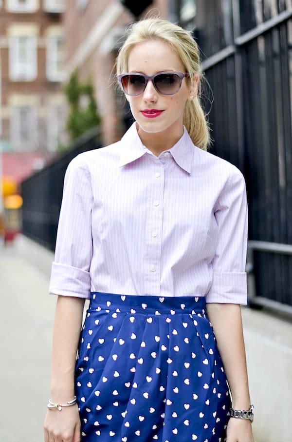 Katie's Bliss Heart Skirt