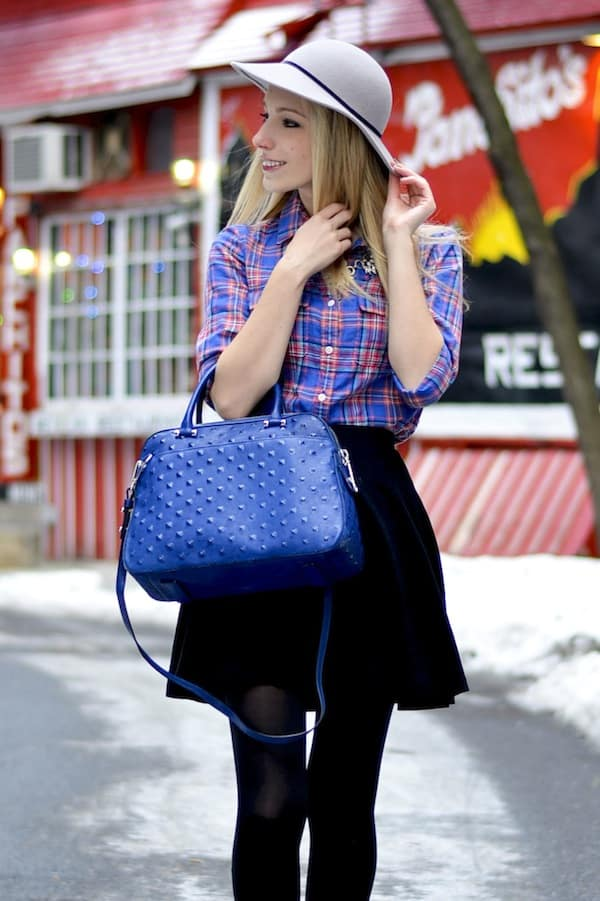 Milly Studded Perry Satchel