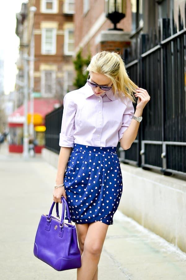 Mini Heart Skirt