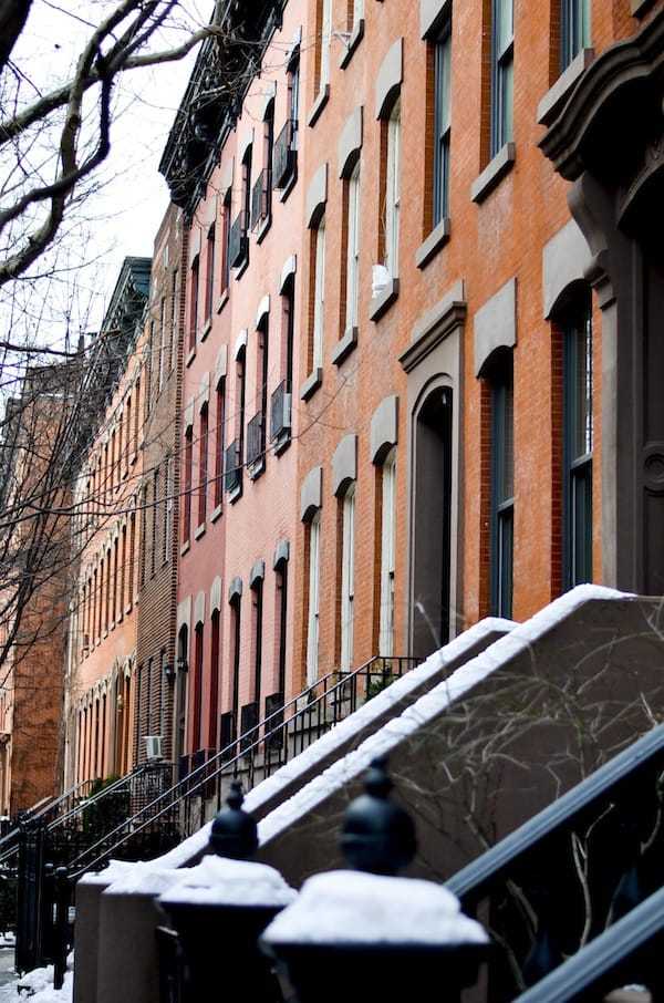 West Village Brick Townhouses