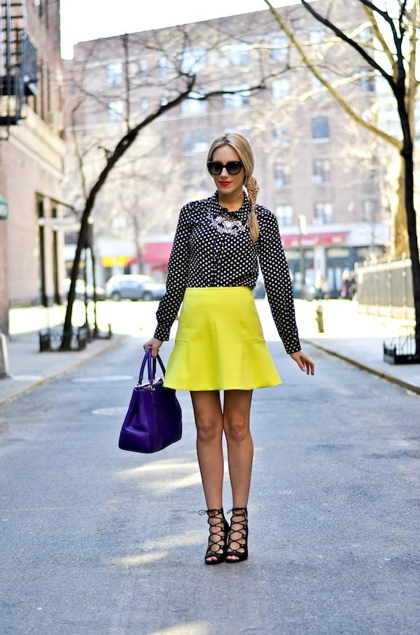 J Crew Fluted Skirt in Double Crepe