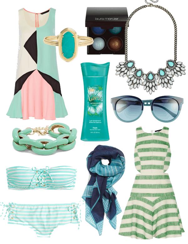 Emerald Inspired Fashion