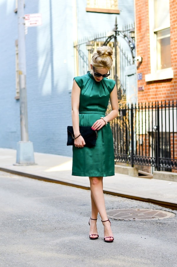Katies Bliss Emerald Green Dress