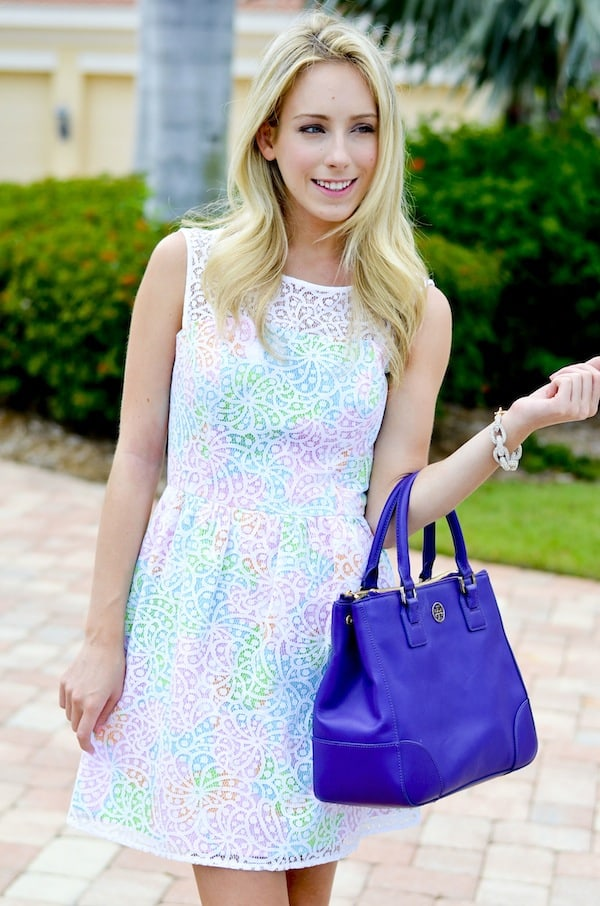 Lilly Pulitzer Lace Overlay Dress