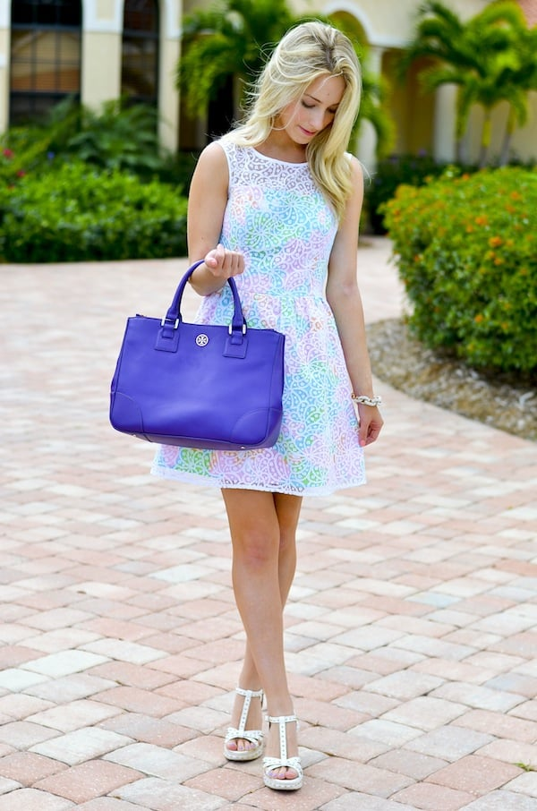 Lilly Pulitzer Lace Overlay Dress_1