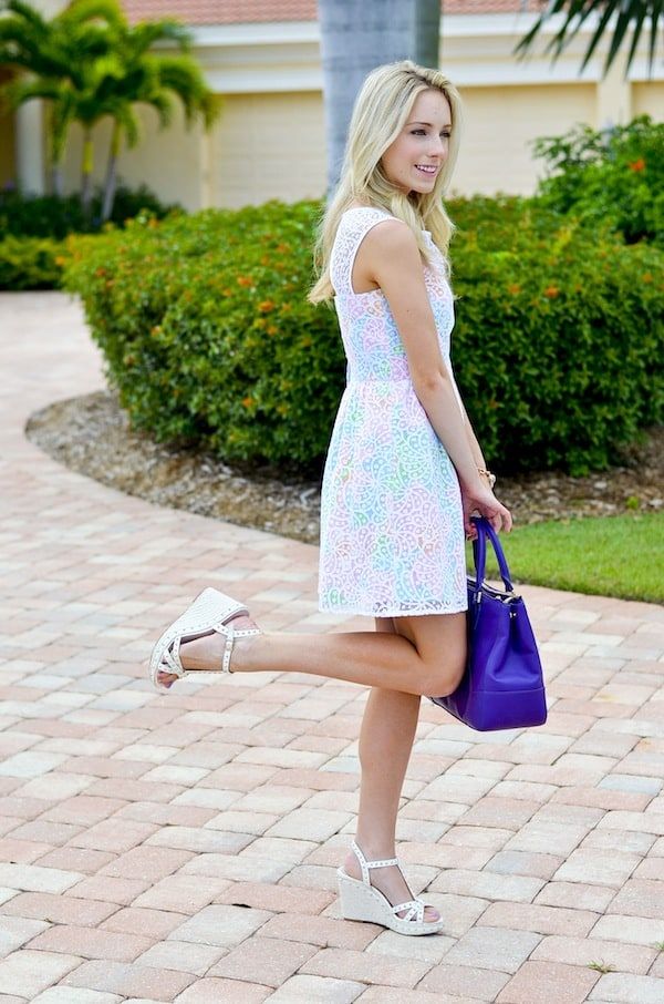 Lilly Pulitzer Lace Overlay Dress_2