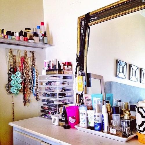 Katies Bliss vanity