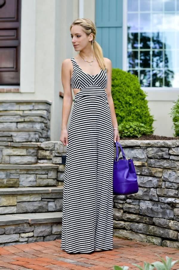 Lulus Cutout Maxi Dress