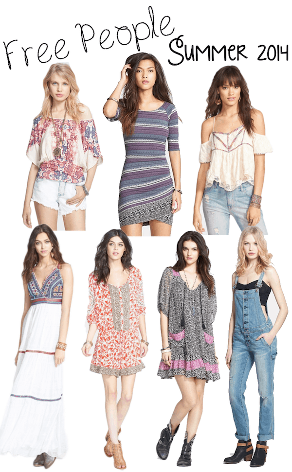 Free People Summer 2014 Collection