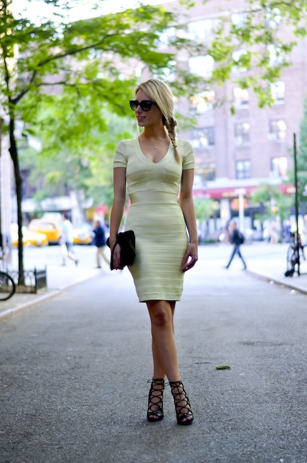 French Connection Bandage Dress