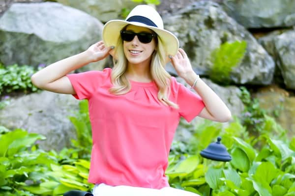 Katies Bliss Panama Hat