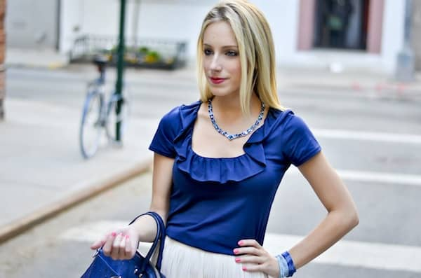 Lilly Pulitzer Ruffle Top