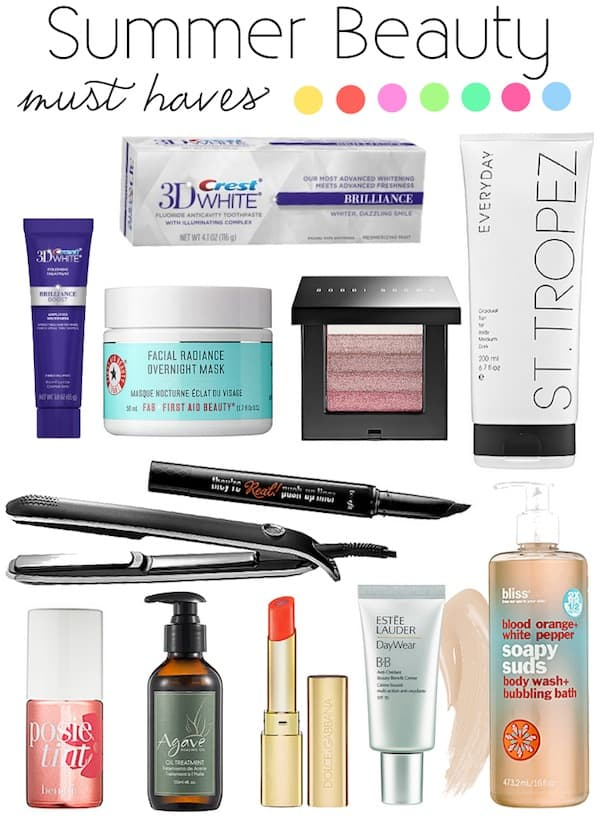 Summer Beauty Must Haves Katies Bliss