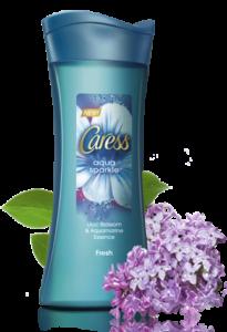 Caress Aqua Sparkle
