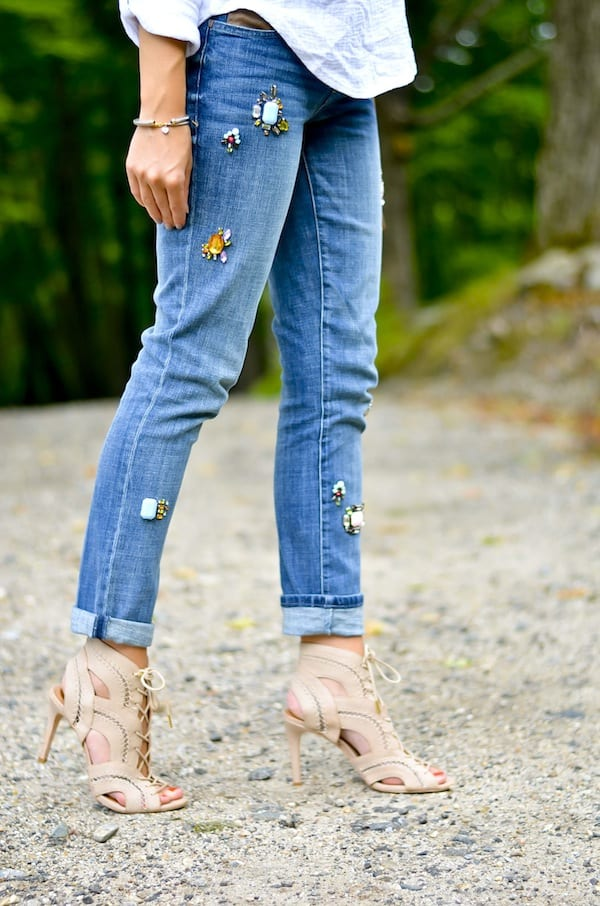 Anthropologie Embellished Jeans Katie S Bliss