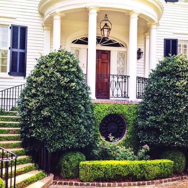 Historic Charleston Front Entrance