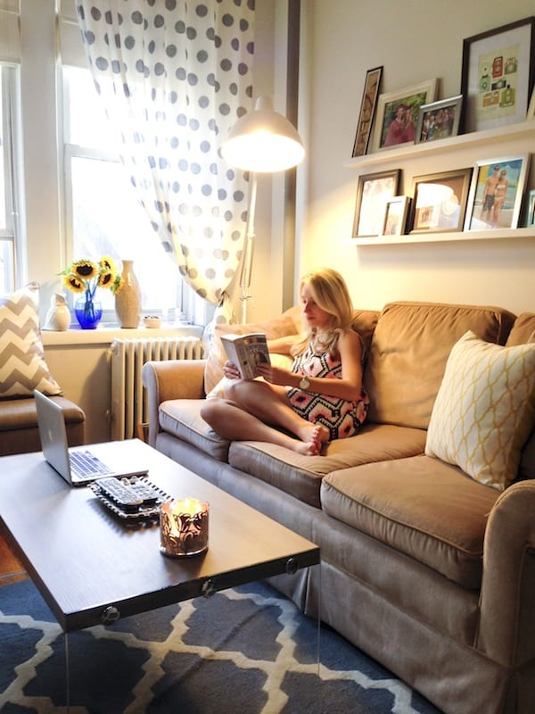 Apartment refresh katie 39 s bliss - New apartment decorating ...
