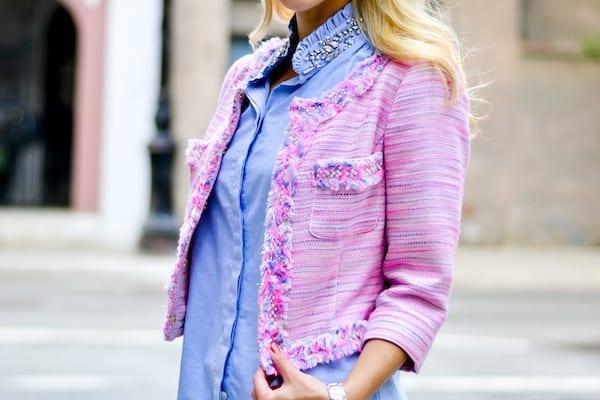 Lilly Pulitzer Boucle Tweed Jacket