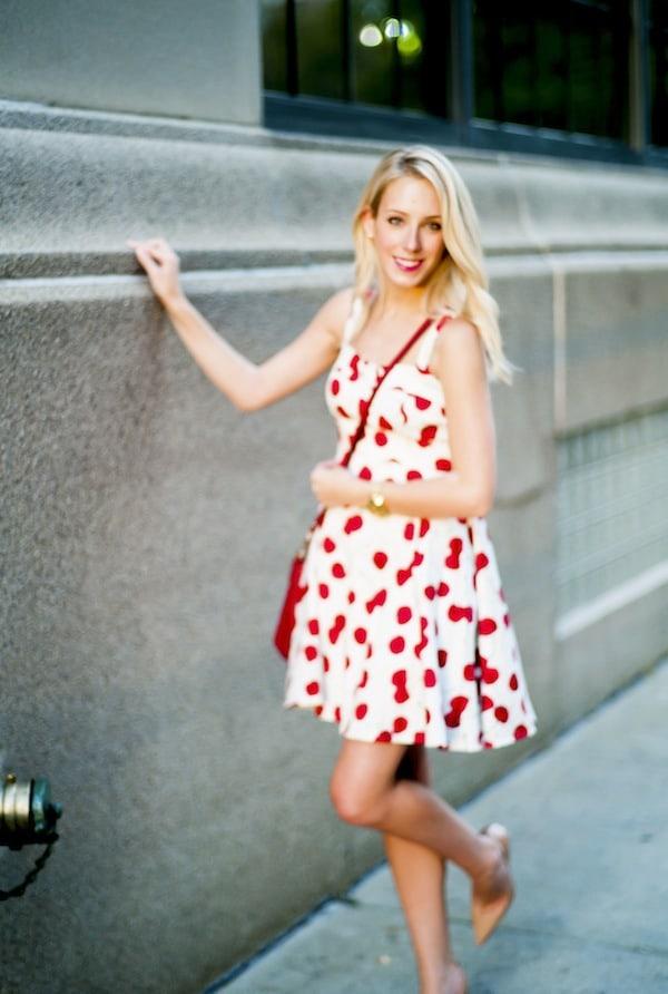 Chic Wish Cherry Print Dress