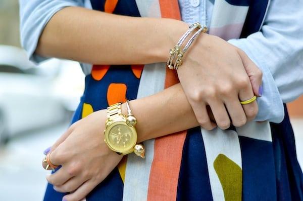 Movado Gold Bracelet Watch