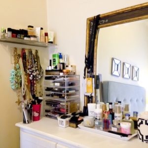 Katie's Bliss Makeup Collection Organization