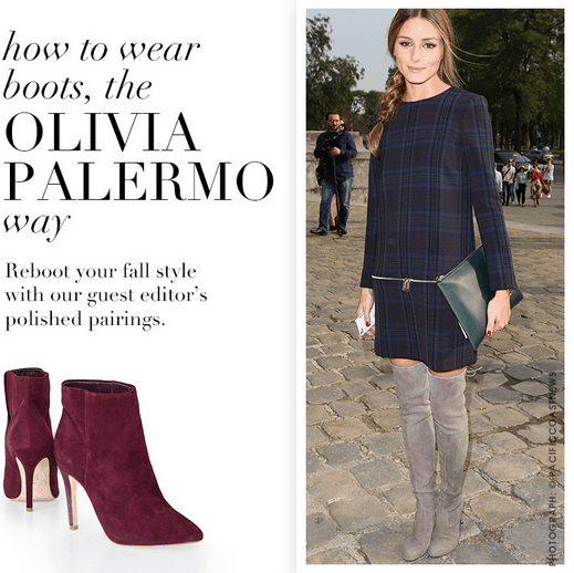 Olivia Palermo Piperlime Boots