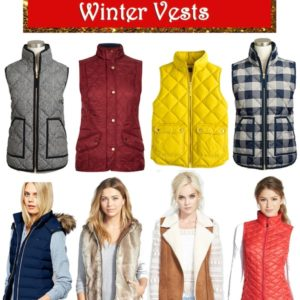 Holiday Gift Guide Winter Vests 2014