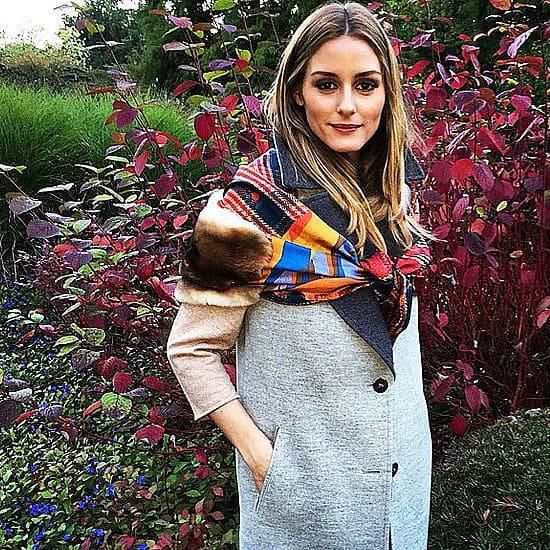 How To Wear a Scarf Like Olivia Palermo