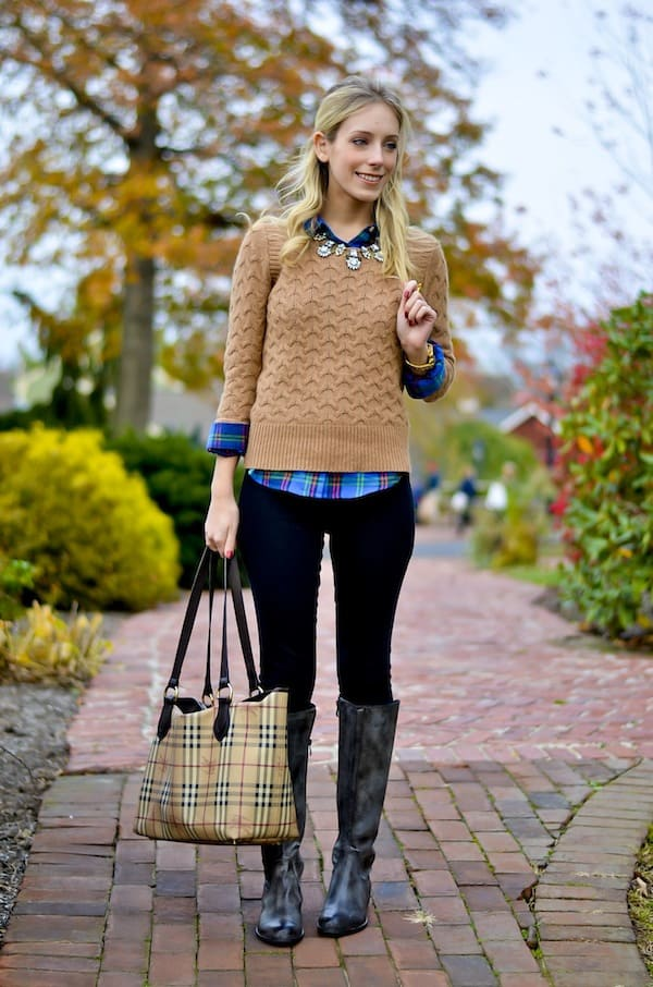 J. Crew Cableknit Sweater