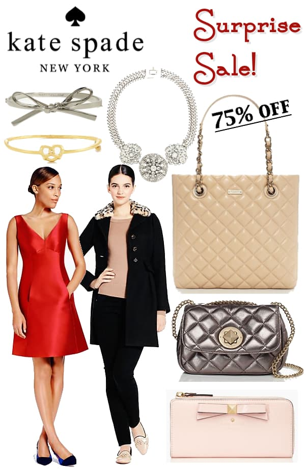 Kate Spade New York Surprise Sale Black Friday 2014