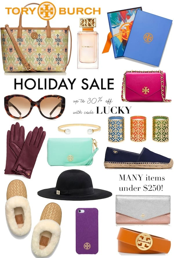 Tory Burch Black Friday Holiday Sale 2014