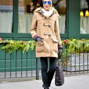 Asos Camel Toggle Coat