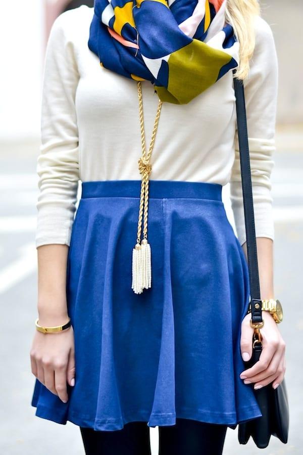 BaubleBar Pearl Tassel Necklace