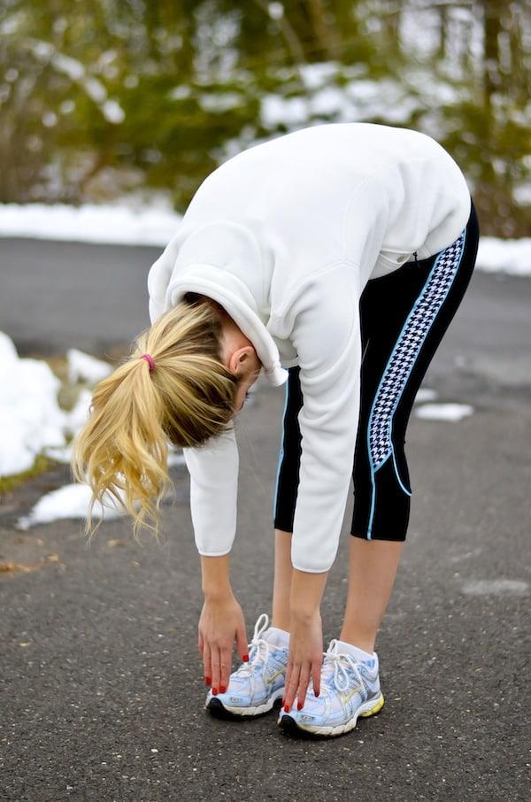 Devon Maryn Houndstooth Yoga Capris