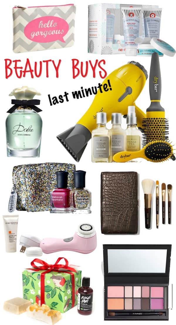 Last Minute Beauty Gifts 2014