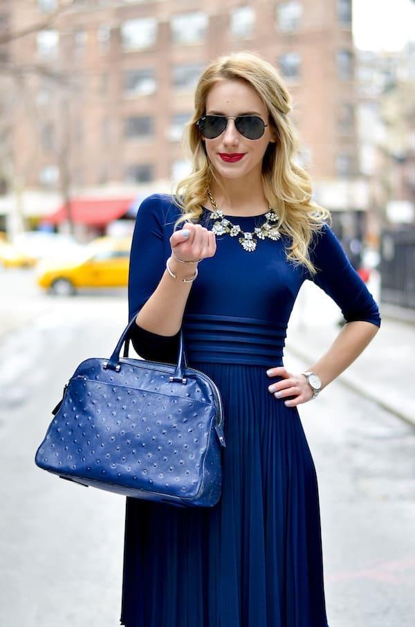 Royal Blue Jersey Dress Katie S Bliss