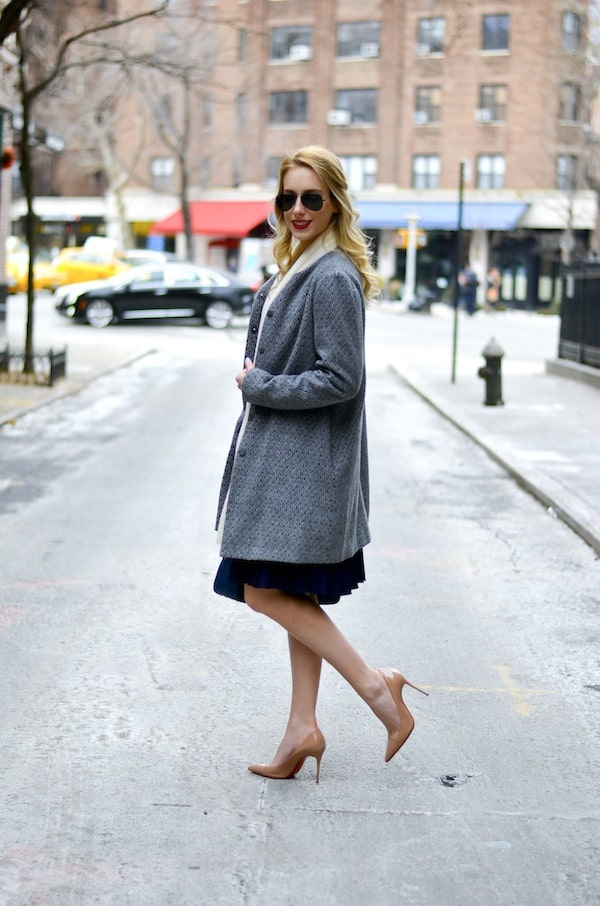Eliza J Jersey Fit and Flare Dress