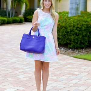 Lilly Pulitzer Morrison Lace Overlay Dress