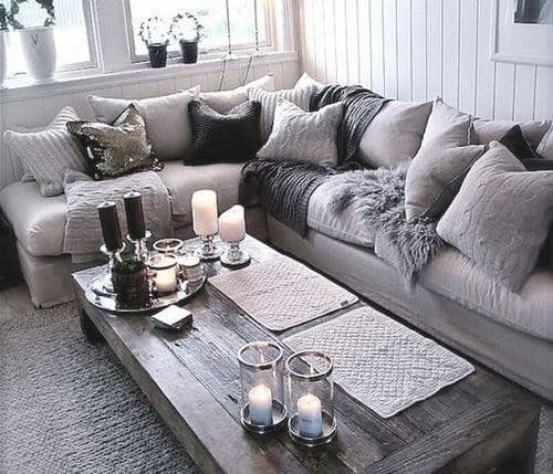 Cozy Grey Sectional
