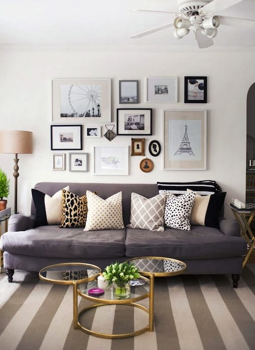 New apartment decor inspiration katie 39 s bliss Living room decor inspiration