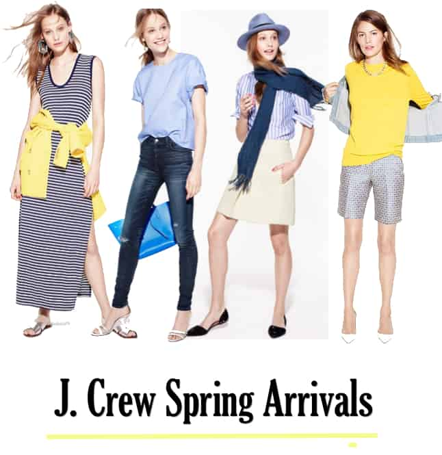 J. Crew Spring 2015 New Arrivals