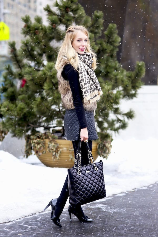 Kate Spade Quilted Tote Bag