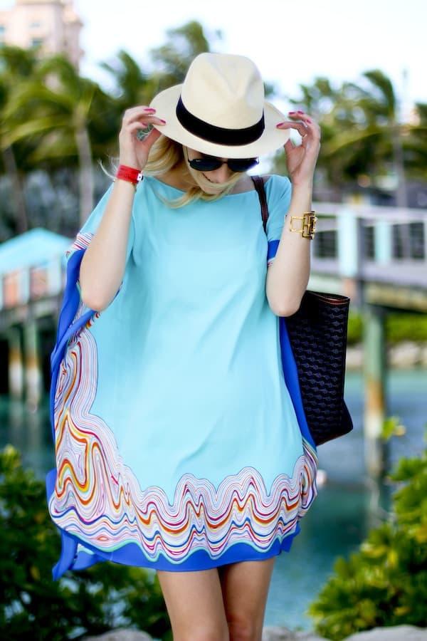 Lilly Pulitzer Silk Caftan Dress