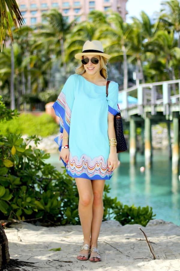 Lilly Pulitzer Silk Caftan Dress